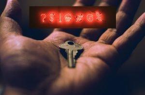 Password key